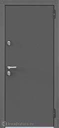 Дверь входная металлическая Бульдорс Термо 100 T-135 Букле графит / Ларче бьянко