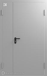 Дверь противопожарная Сибирь ДПД EIWS-60 880*2050 см