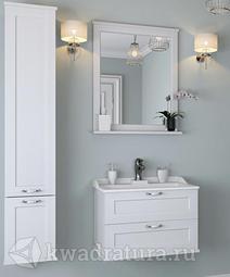 Комплект мебели Aquaton Леон 65 Дуб белый
