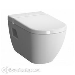 Унитаз подвесной Vitra D-Light 5911В003-1086, сиденье микролифт 104-003-009