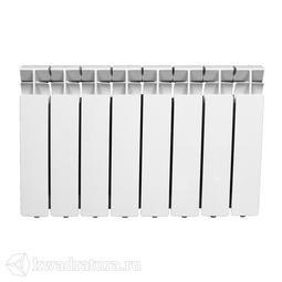 Радиатор алюминиевый 350*80*8 секций