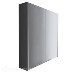 Зеркало-шкаф 1Marka Gaula 60 2 двери Black