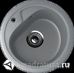 Кухонная мойка ULGRAN U-500 тёмно-серый №309 44 см