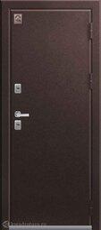 Дверь входная металлическая Центурион Т-2 Шоколад муар / Миндаль