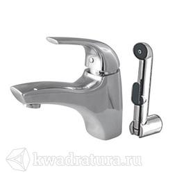 Смеситель для умывальника с гигиеническим душем AM.PM Sense F7503000