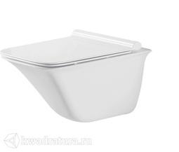 Унитаз подвесной GROSSMAN GR-4413S сиденье дюропласт, микролифт, 510*355*365, белый
