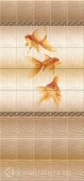 Стеновая панель ПВХ DISCOVERY Золотые рыбки