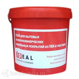 Клей Ideal 302 для быт. и полукоммерч. напольных покрытий из пвх и текстиля
