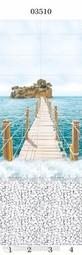 Стеновая панель ПВХ Panda Море пирс