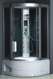 Душевая кабина ODA 8802 тонированное стекло в/п 100*100 см