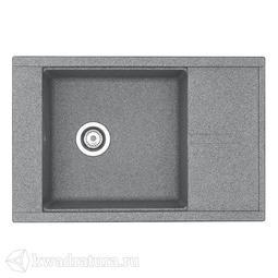 Кухонная мойка Aquaton Делия 78 (серый) 1A715132DE230