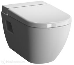 Унитаз подвесной Vitra D-Light с бачком для чистящей жидкости Vitra fresh 5910В003-1086, сиденье микролифт 104-003-009