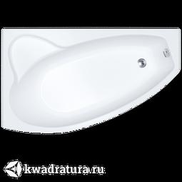 Акриловая ванна 1ACReal Barcelona правая 150*100 см