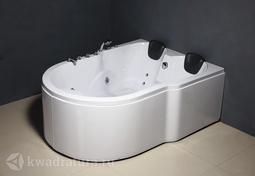 Гидромассажная двухместная акриловая ванна ODA-325 183*136 см с врезанным оборудованием!!!