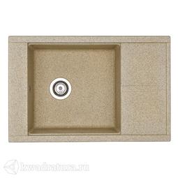 Кухонная мойка Aquaton Делия 78 (песочный) 1A715132DE220