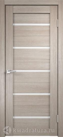 Межкомнатная дверь Velldoris (Веллдорис) Duplex капучино, стекло мателюкс