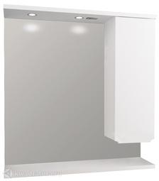Зеркало 1Marka Кода Лайт 80 Белый глянец