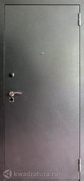 Дверь входная металлическая Форт Б-14Z Фараон Дуб Беленый с Зеркалом