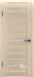 Межкомнатная дверь GreenLine Atum X-7 капучино