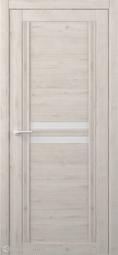 Межкомнатная дверь Фрегат (ALBERO) Каролина Кремовый стекло белое