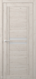 Межкомнатная дверь Фрегат (ALBERO) Каролина Кремовый стекло мателюкс