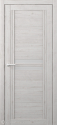 Межкомнатная дверь Фрегат (ALBERO) Каролина Жемчужный стекло мателюкс