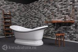 Каменная ванна Aqua de Marco Фиджи белая 190*86