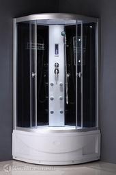 Душевая кабина ODA 8804 тонированное стекло в/п 90*90 см