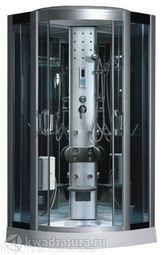 Душевая кабина ODA 8318 тонированное стекло н/п 100*100 см