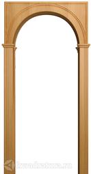 Межкомнатная арка Арктек Палермо миланский орех, наличник 70мм