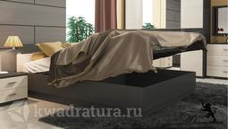 Двуспальная кровать «Сити» с подъемным механизмом (Каттхилт, Тексит ) без матраса ТР