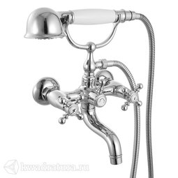 Смеситель для ванны с керамическим дивертором Iddis Sam SAMSB02i02