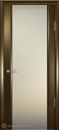 Межкомнатная дверь Океан Шторм-3 Венге с/о белое