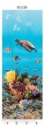 Стеновая панель ПВХ Panda Подводный Мир черепаха 01130