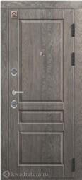 Дверь входная металлическая Центурион С-110 Дуб мадейра/софт белый
