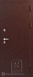 Дверь входная металлическая Легион Т-2 медь/миндаль Терморазрыв