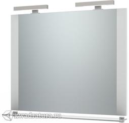 Зеркало Triton Ника 100 см подсветка, с полочкой