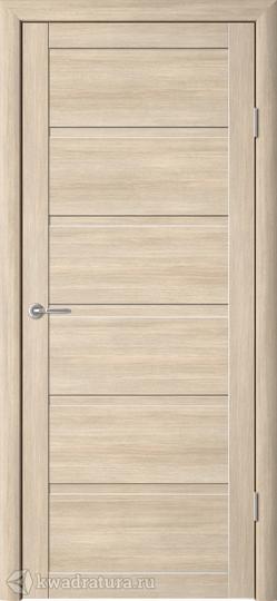 Межкомнатная дверь Фрегат (ALBERO) Вена Лиственница Мокко, глухое