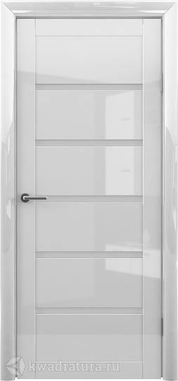 Межкомнатная дверь Фрегат (ALBERO) Вена Глянец белый ст матовое