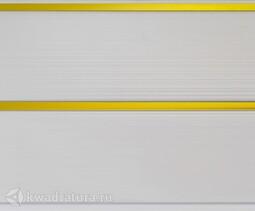 Потолочная панель 2-х секционная Золото
